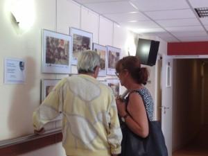 André Seratore présentant sa collection