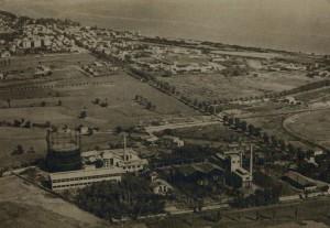 Vue aérienne de la Bocca